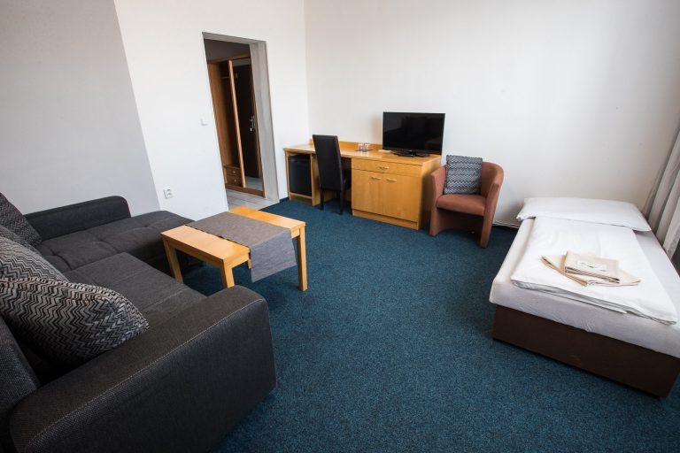 A-Sport Hotel Brno: Apartmá