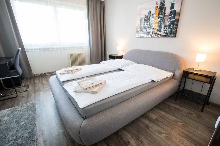 A-Sport Hotel Brno: Dvoulůžkový pokoj s manželskou postelí
