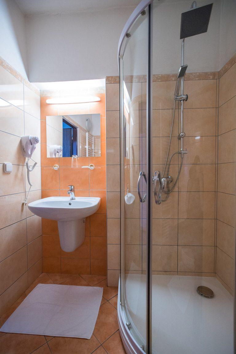 A-Sport Hotel Brno: Koupelna