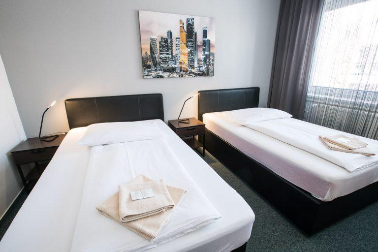 A-Sport Hotel Brno: Dvoulůžkový pokoj s oddělenými postelemi